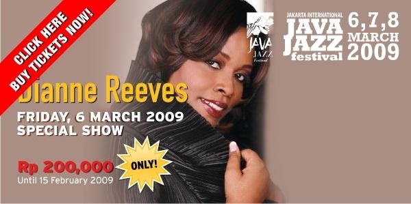 Dianne Reeves siap tampil di Java Jazz Festival 2009