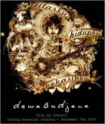DVD Dewa Budjanda Gitarku: Hidupku, Kekasihku
