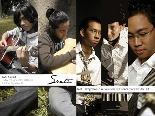 Photo of Sketsa featuring Jazzyphonic di Cafe au Lait