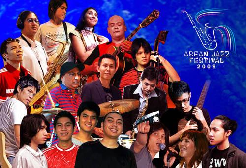 Artis Pendukung Asean Jazz Festival 2009