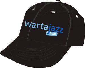 topi - wartajazz black blue