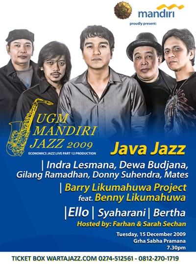 UGM Mandiri Jazz 2009 - Tampilkan Java Jazz dll