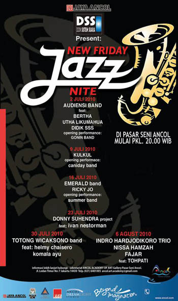 New Friday Jazz Nite @ Pasar Seni Ancol