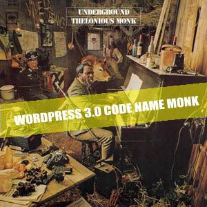 Thelonious Monk - Kode Wordpress 3.0