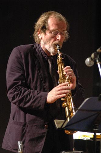 Photo of Saxophonis Willem Breuker wafat