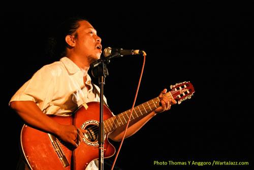 Zarro di Jazz @ Fort Rotterdam 2010 - Makassar