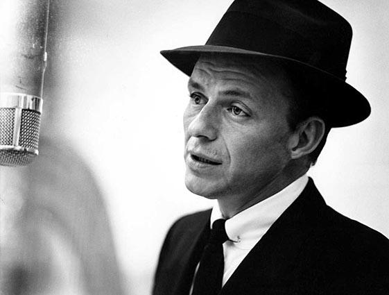 Frank Sinatra salah satu karya Herman Leonard