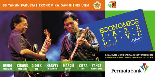 Economic Jazz Live Part 14 Reborn - UGM Yogyakarta