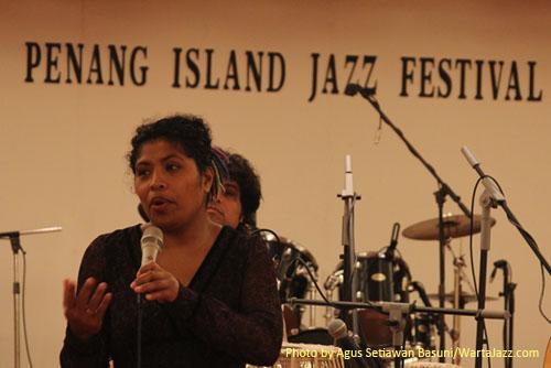 Workshop Boi Akih di 7th Penang Island Jazz Festival 2010