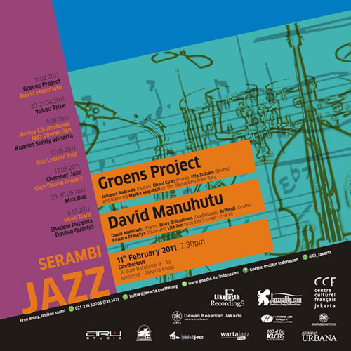Serambi Jazz 2011 - David Manuhutu - Groens Project