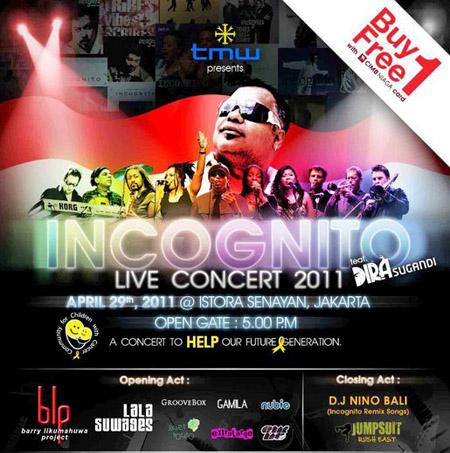 Incognito feat Dira J. Sugandi