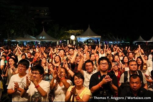 Ramai Penonton Borneo Jazz 2011