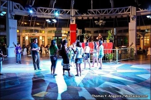 DJ Kate Welshman a.k.a Systa BB - Borneo Jazz 2011 (02)