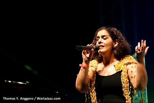 Fernanda Cunha (Cunha e Piper) - Borneo Jazz 2011