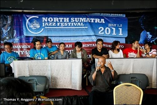 Jumpa Pers North Sumatra Jazz Festival 2011