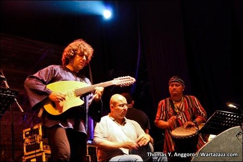 Kamal Musallam, Nasser Salameh, dan Adi Prasodjo - The 4th Asean Jazz Festival