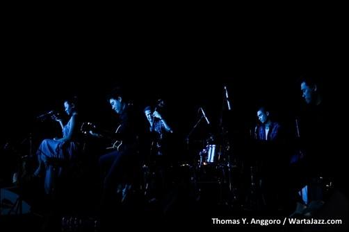 The Jongens Quartet & Dira Sugandi - The 4th Asean Jazz Festival