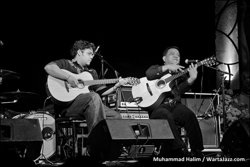 Yeppy Romero & Sandi Gallingging - The 4th Asean Jazz Festival
