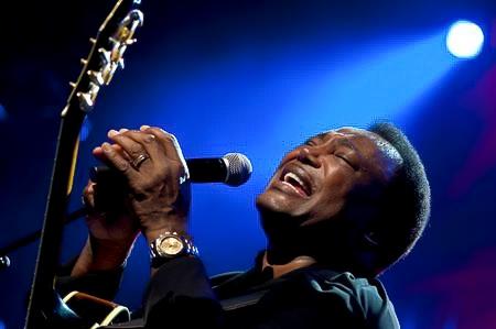 George Benson - 45th Montreux Jazz Festival, Swiss, 4 Juli 2011 (AP Photo/Keystone/Dominic Favre)