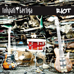 Tohpati Bertiga - Riot (2011) CD Cover
