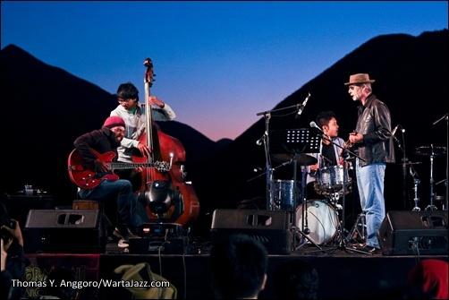 Jazz on Bromo - Joe Rosenberg Quartet