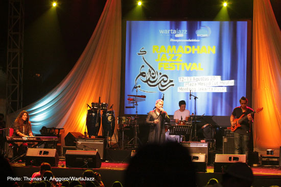 Tompi di Ramadhan Jazz Festival 2011