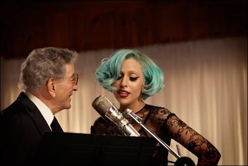 Sesi rekaman Tony Bennett bersama Lady Gaga