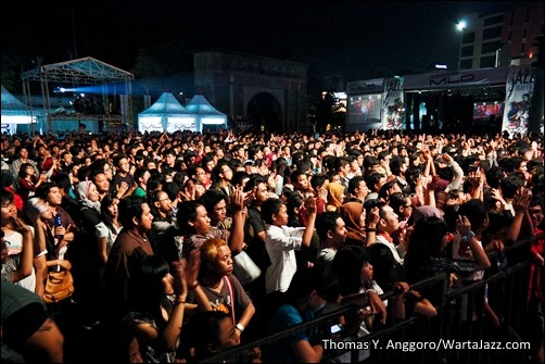 Audiens JazzTraffic Semarang