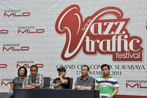Konferensi Pers JazzTraffic Festival 2011 di Grand City Surabaya