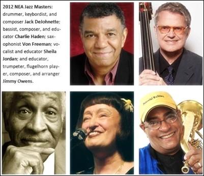 NEA Jazz Masters 2012