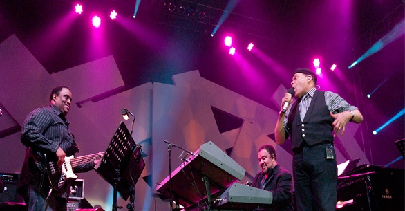 George Duke & Al jarreau di Java Jazz Festival 2012 (Photo by Erwin/WartaJazz)