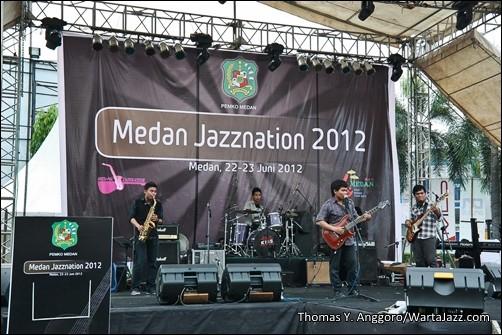 Femia The Farabi - Medan Jazznation 2012