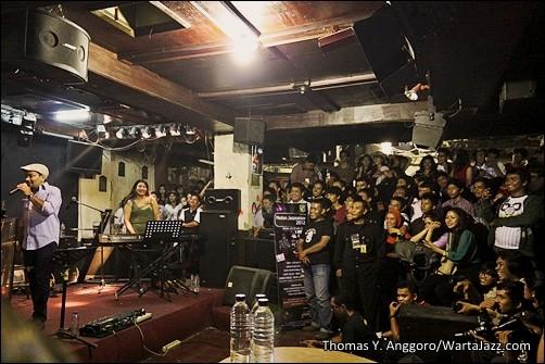 Ramai penonton Medan Jazznation 2012