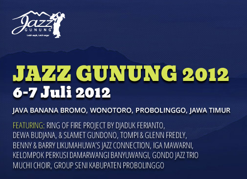 Photo of Jazz Gunung 2012 digelar dua hari, hadirkan Budjana, Tompi, Benny & Barry Likumahuwa
