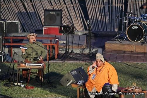 Djaduk Ferianto dan Slamet Gundono - Jazz Gunung  2012