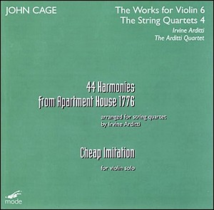John Cage - 44 Harmonies and Cheap Imitation