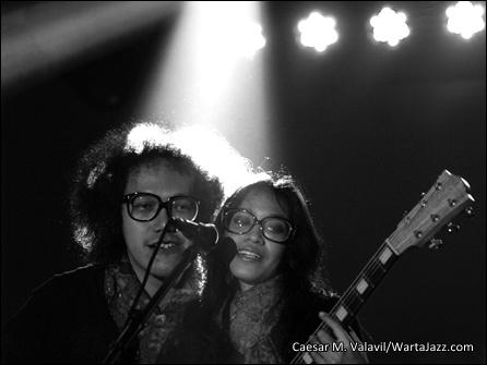 Endah N Rhesa - Borobudur Jazz 2012