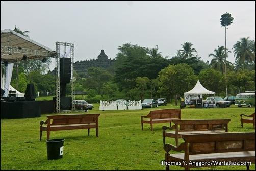 Taman Lumbini, venue Borobudur Jazz Festival 2012