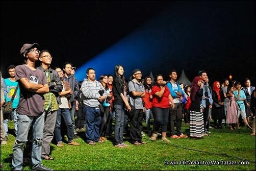 Audiens Borobudur Jazz 2012