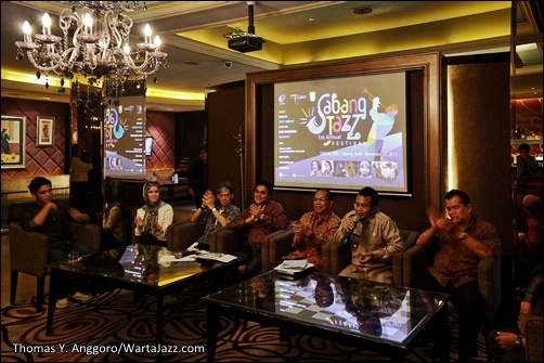 Jumpa Pers The 1st Annual Sabang Jazz Festival, Jakarta