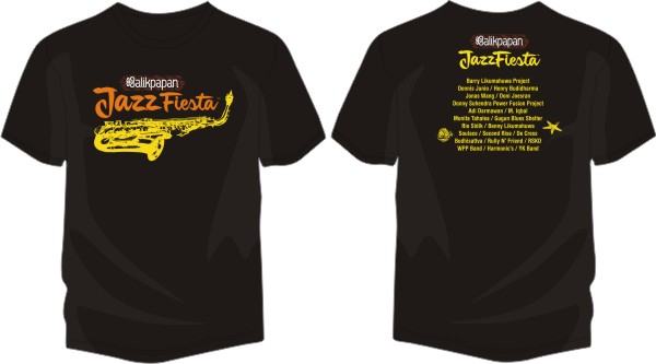 177 - Balikpapan Jazz Fiesta black