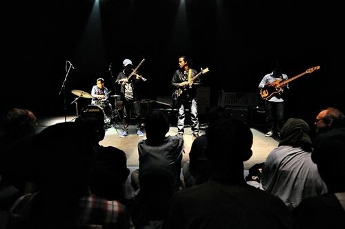 Balawan, Didiet, Fajar dan Dion, Teater Salihara Jakarta (Foto: Witjak/Salihara)