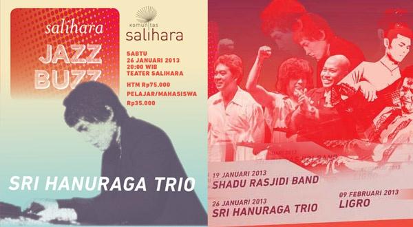 Photo of Pianis Sri Hanuraga dan Trionya di Salihara Jazz Buzz 2013