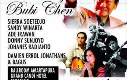 Konser Remembering Bubi Chen digelar Semarang Jazz Lovers