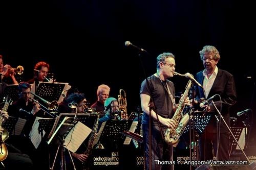 Rick Margitza &Jazz Orchestra of the Concertgebouw - Java Jazz 2013