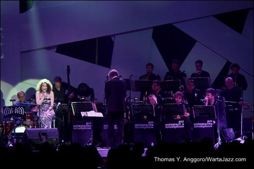 Roberta Gambarini & Jazz Orchestra of the Concertgebouw - Java Jazz 2013