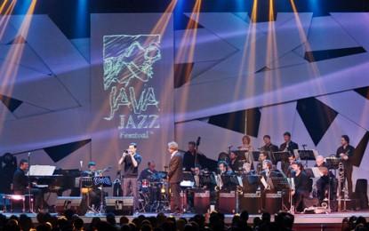 Aksi Spektakuler Jazz Orchestra of the Concertgebouw di Telkomsel/Simpati Hall