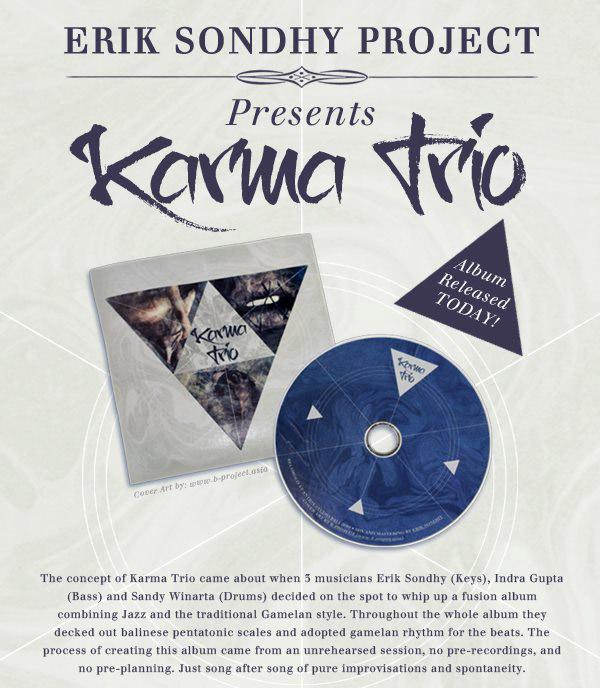 Erik Sondhy Karma Trio