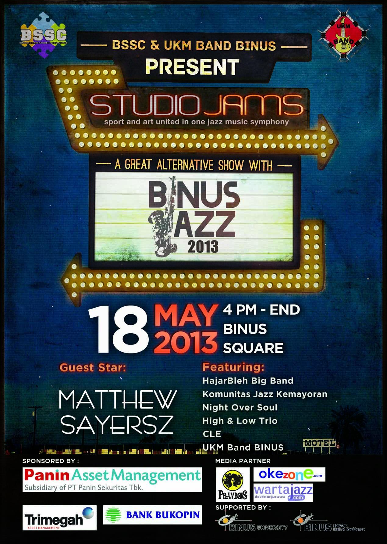 Photo of Jazz Urban Party, Pesta Jazz bagi Masyarakat di Binus Jazz 2013