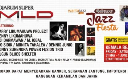 Kolaborasi Djarum Super Mild dan Wartajazz hadirkan Balikpapan Jazz Fiesta 2013